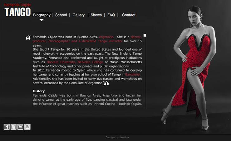 Diseño Web Fernanda Cajide