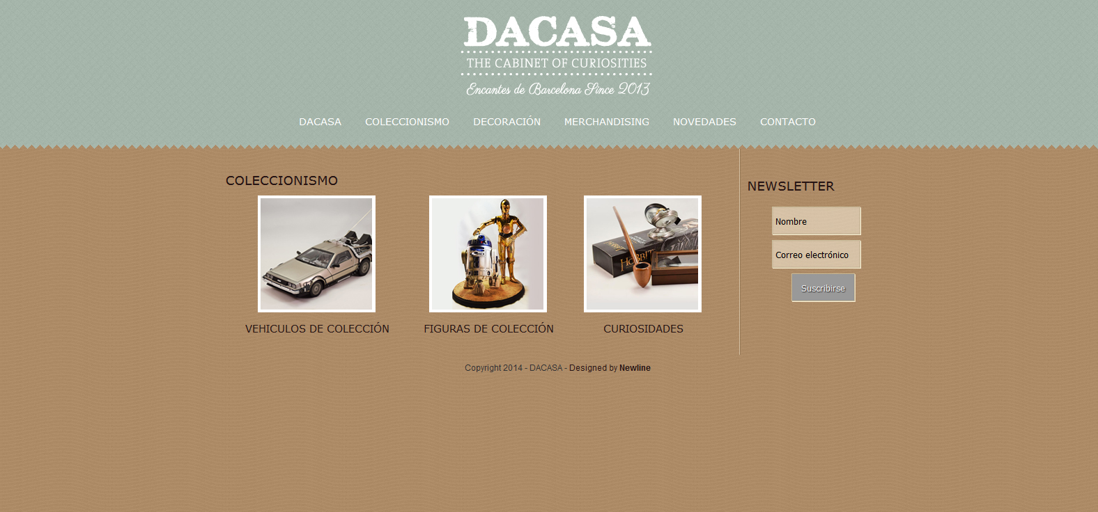 Diseño web dacasa