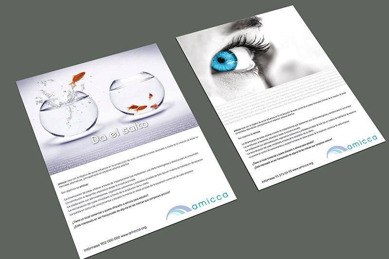 diseño anuncio prensa
